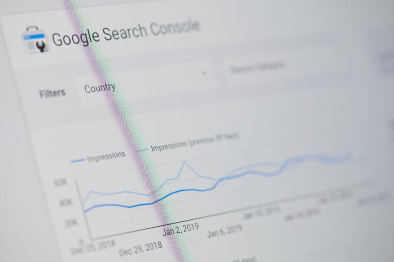 Google search console 使い方